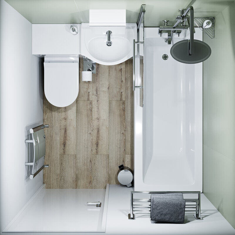 Bathroom layout guidelines