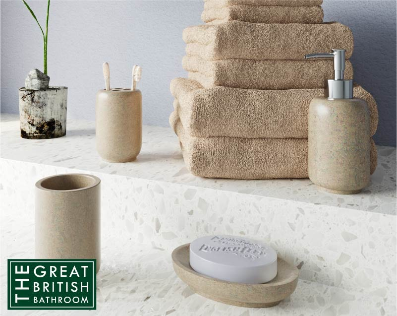 Accents Stone effect bathroom bundle