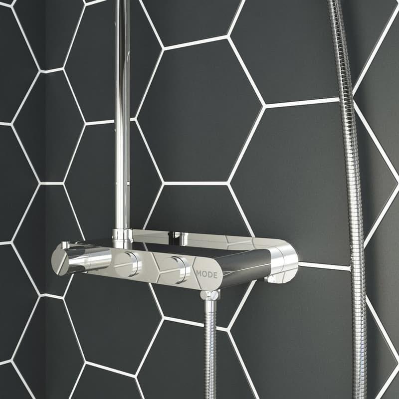 How do thermostatic shower valves work
