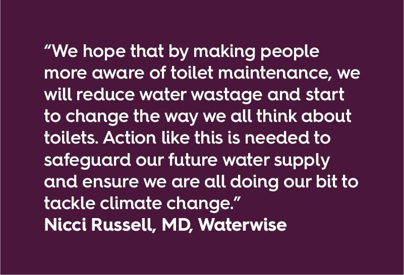 Quote from Nicci Russell, MD, Waterwise
