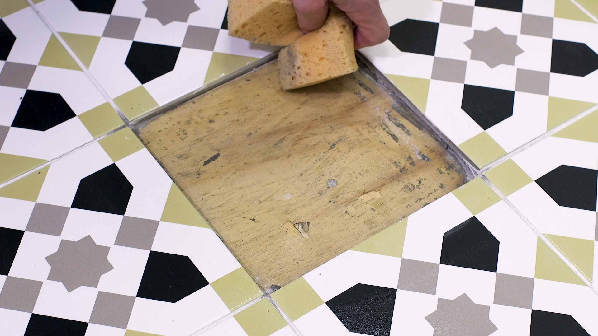 How to replace a damaged tile 5