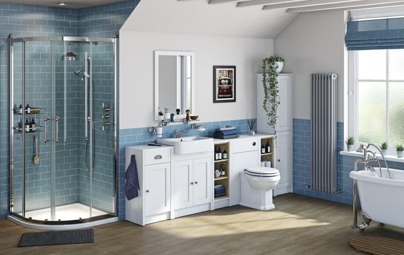 Dulwich white bathroom furniture