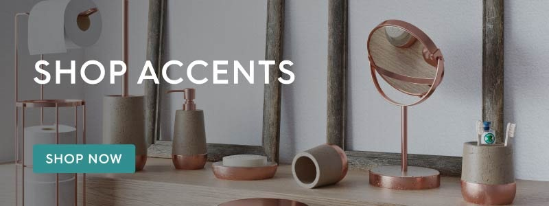 Shop Accents bathroom accessories
