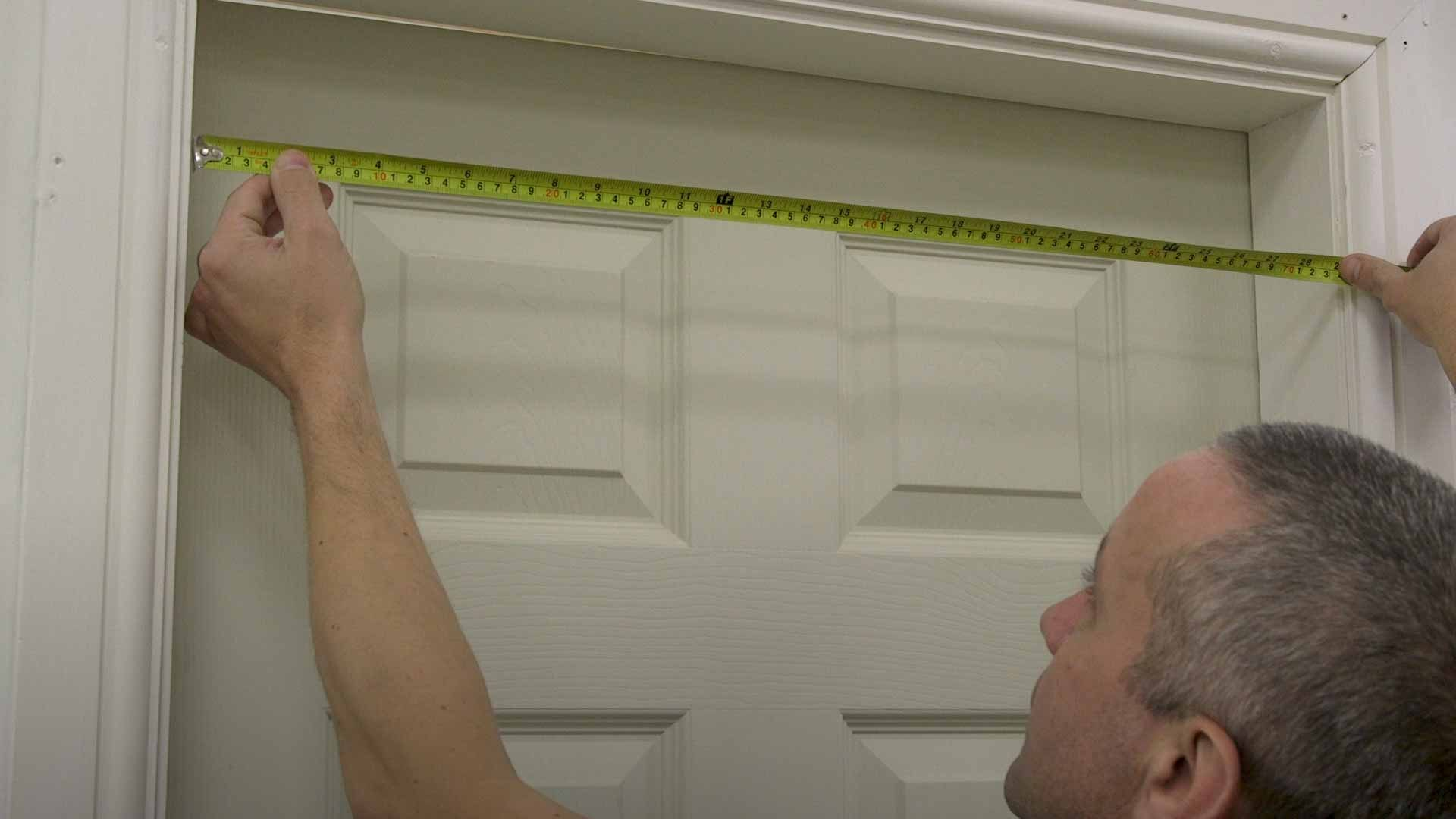 Measure doorways
