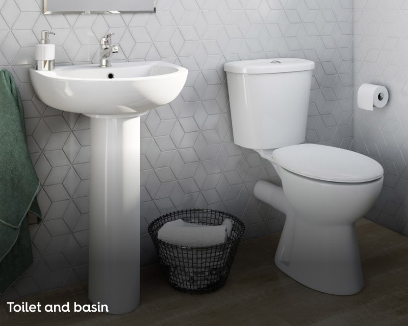 Toilets and basins