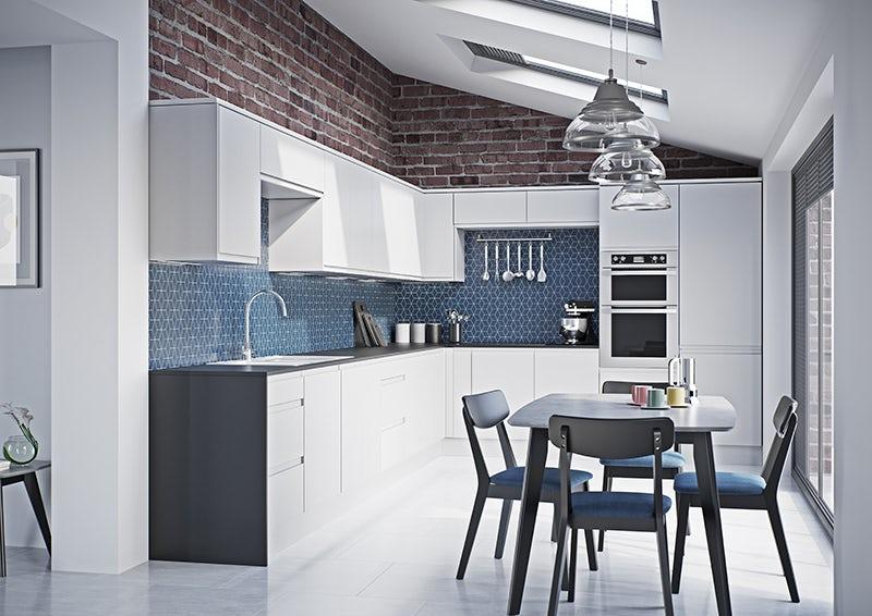 Schön Chicago white kitchen furniture range