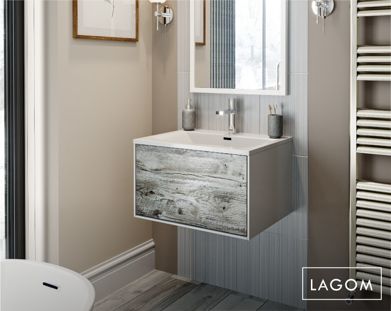 Lagom bathroom—basin