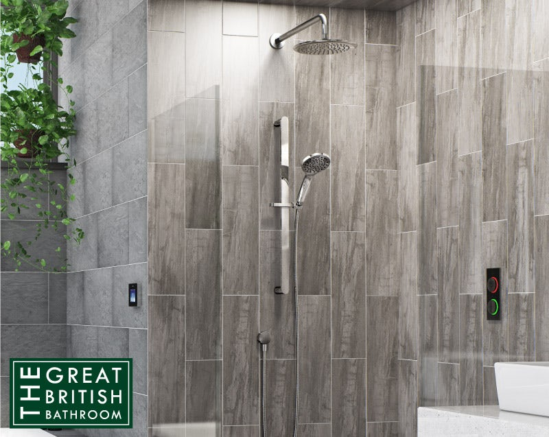 Airmix water-saving shower heads