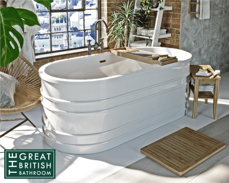 Mode Hale freestanding bath 1675 x 800