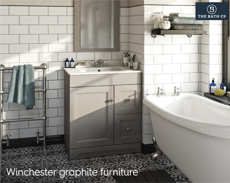 Winchester graphite bathroom furniture 2019