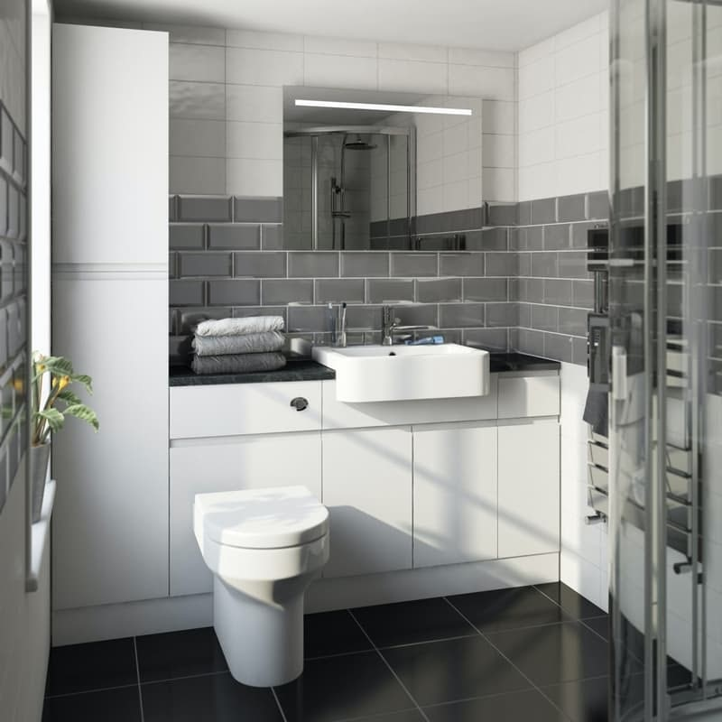 Reeves fitted bathroom furniture