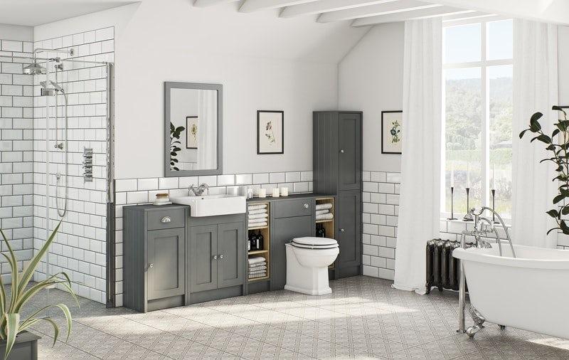Dulwich stone grey bathroom furniture