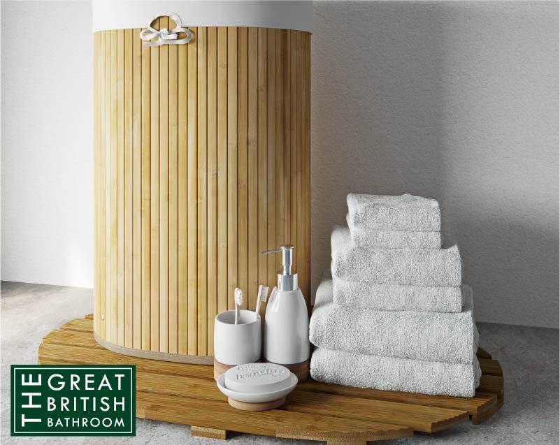 Accents Bamboo bathroom bundle