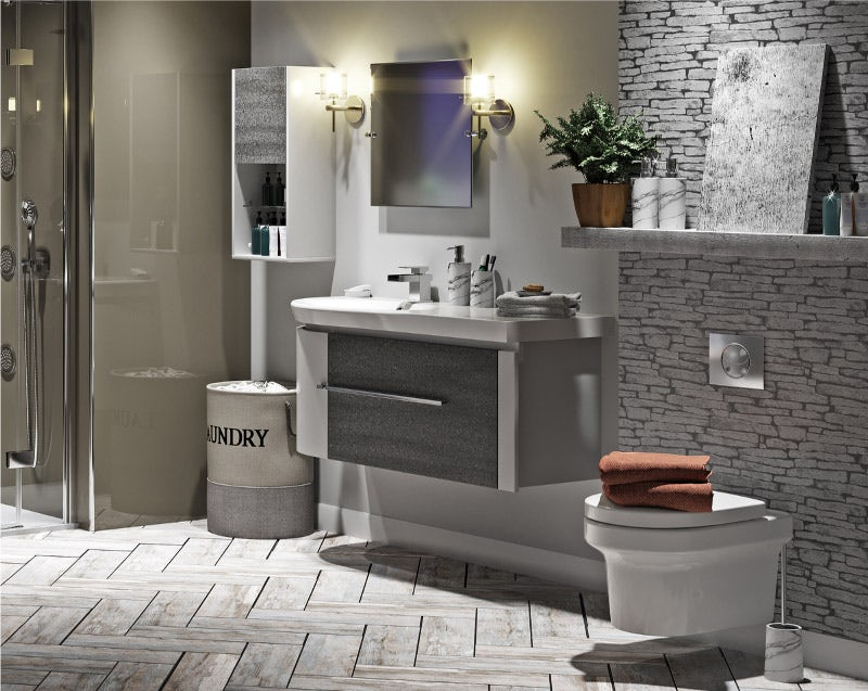 Natural Elements designer bathroom materials