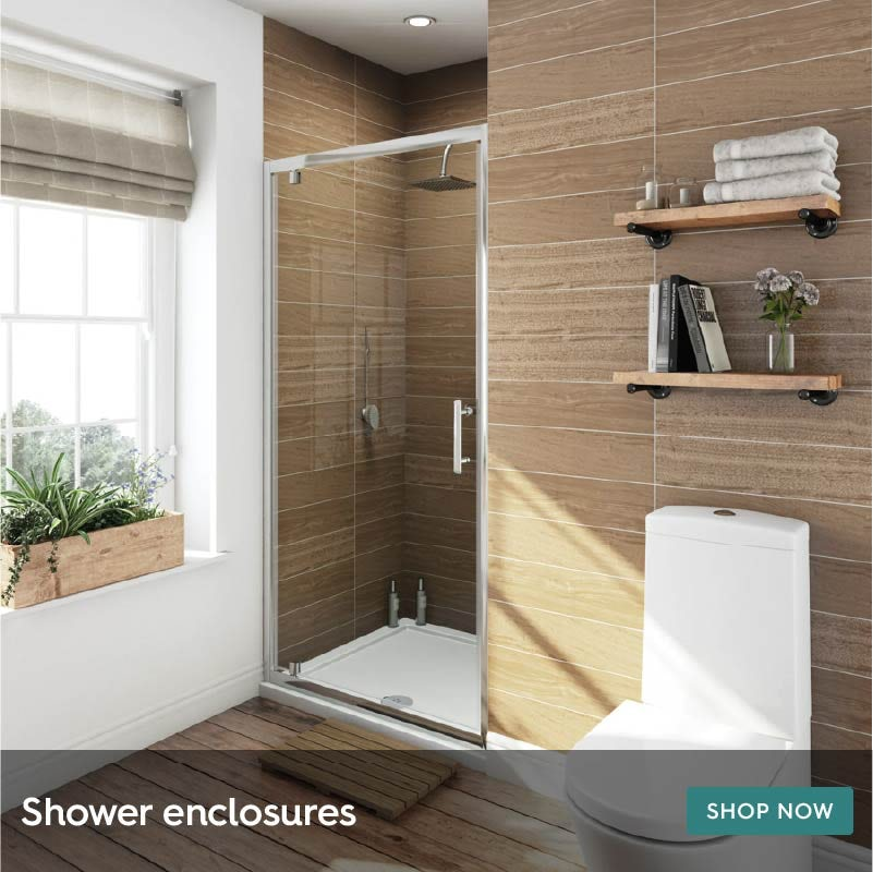 Shower enclosures for ensuite bathrooms
