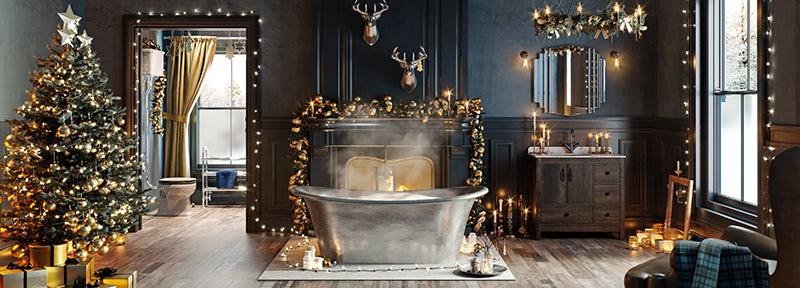 Enchanted Winter bathroom