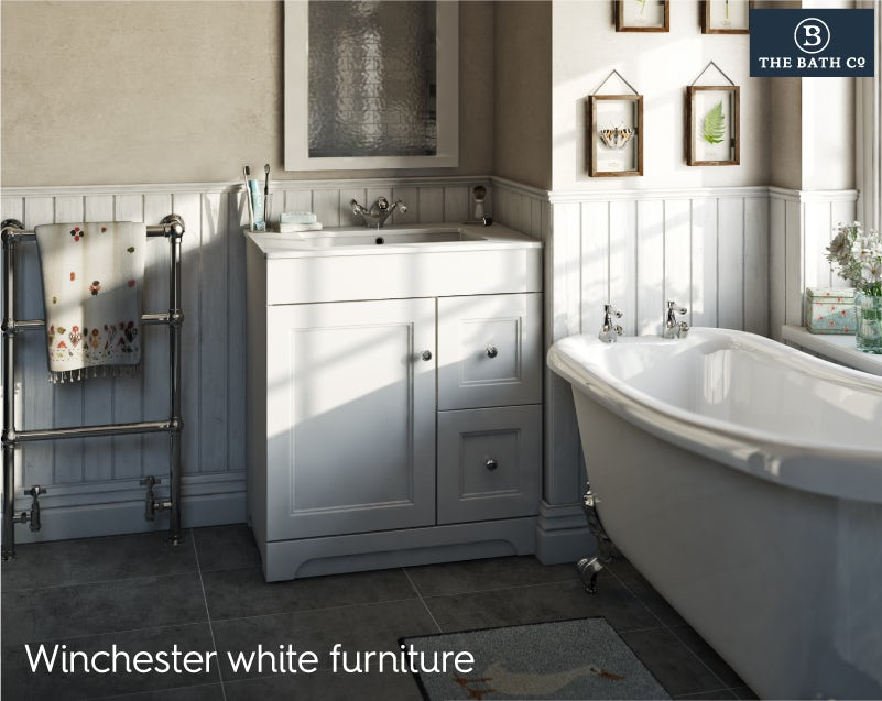 Winchester white bathroom furniture 2019
