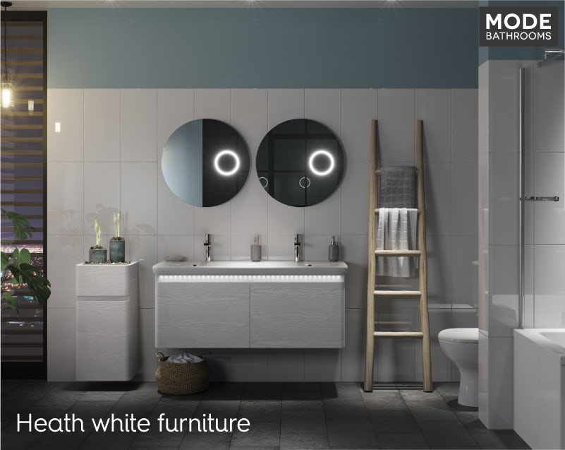 Heath white bathroom furniture 2019
