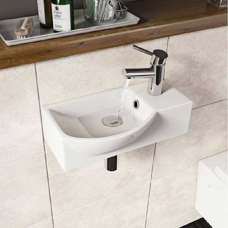 Orchard Constance 1 tap hole basin 405mm