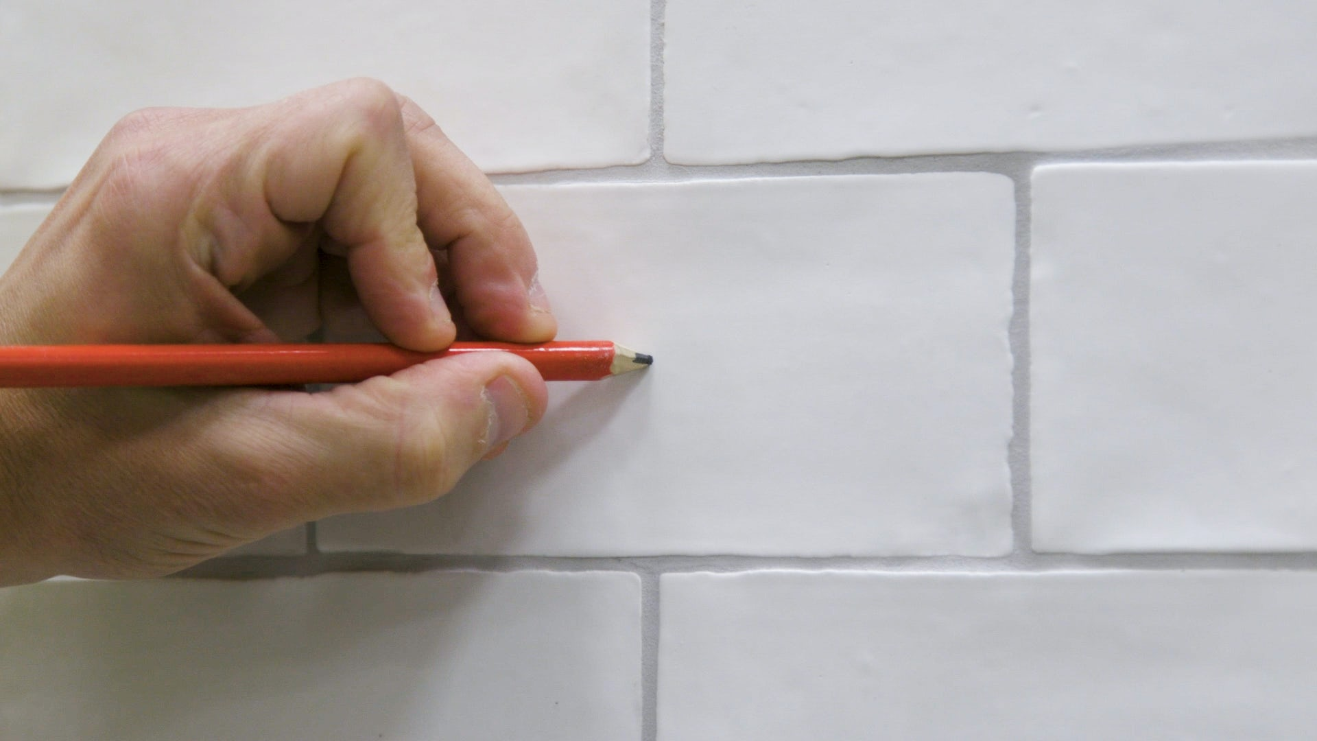 How to drill through tile 2