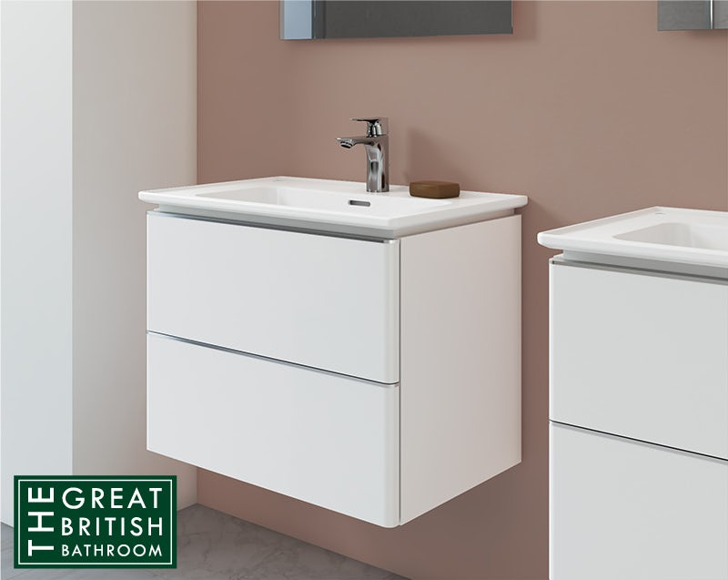 Ideal Standard Strada II wall hung vanity unit and basin