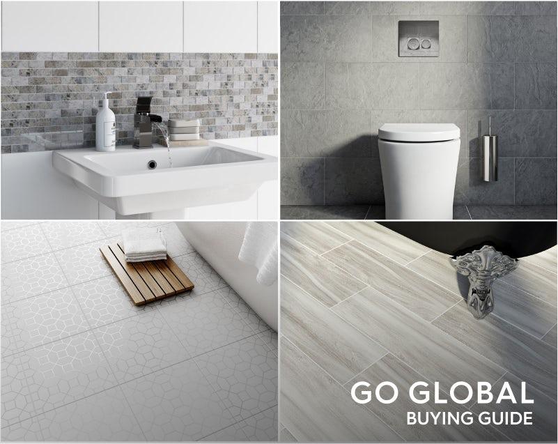 Indian-inspired bathroom tiles