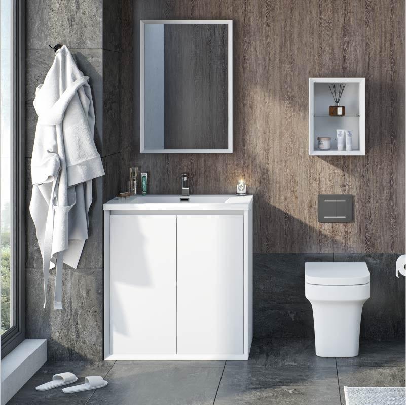 Larsen bathroom furniture