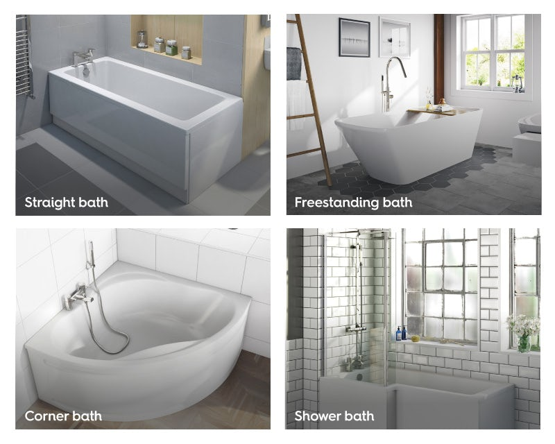 Different bath types
