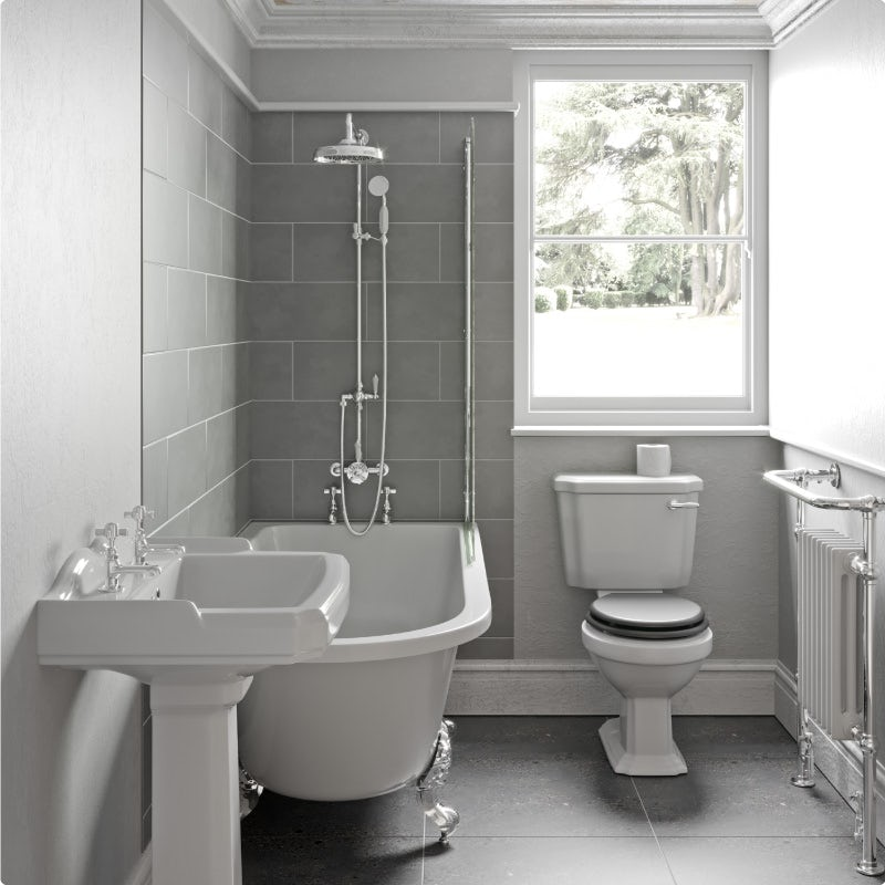 Adding accent to your bathroom—before