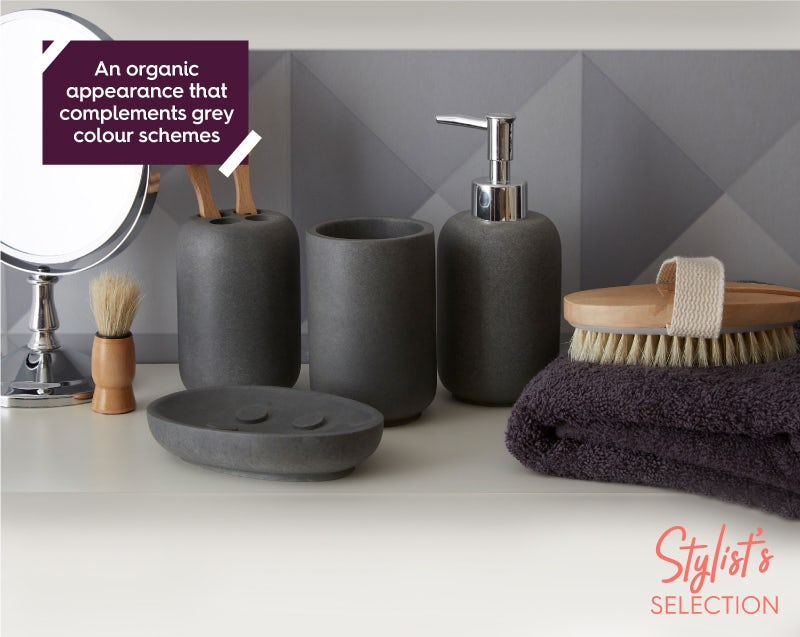 Mineral grey accessory range