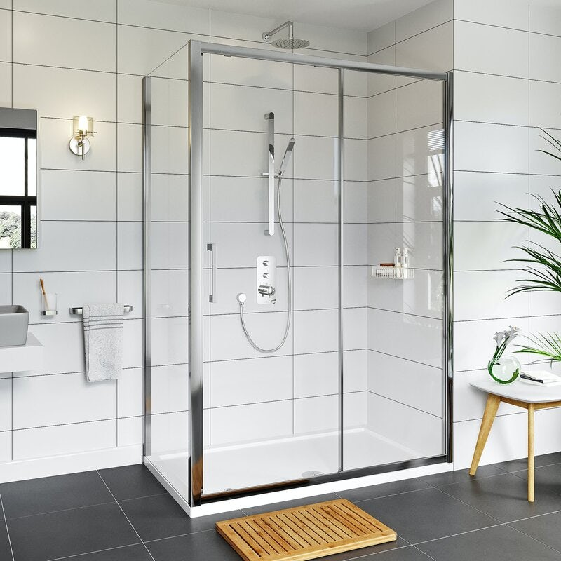Mode Adler 8mm framed sliding shower enclosure