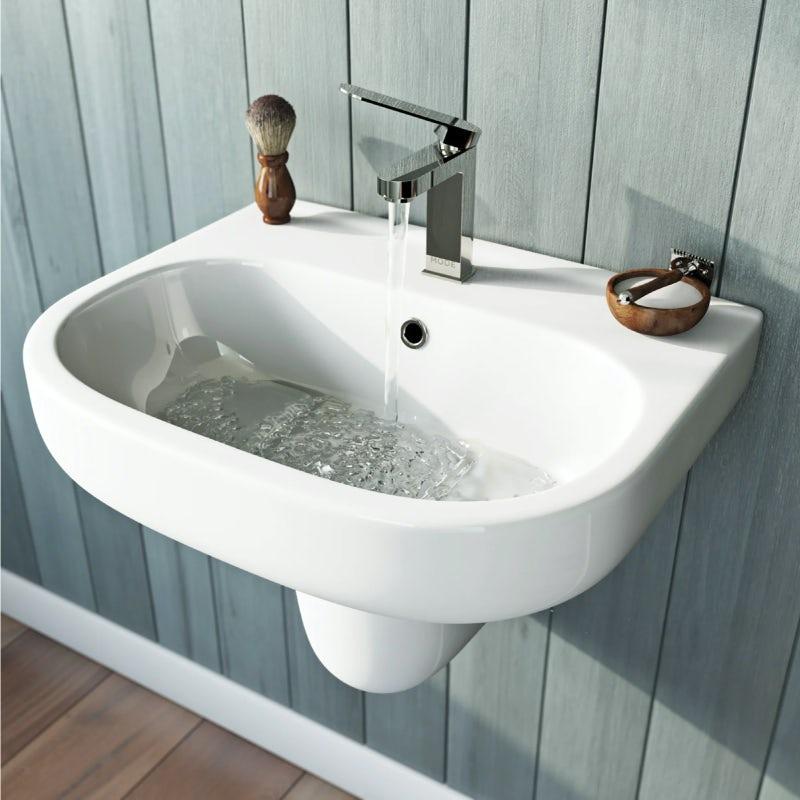 Mode Burton semi pedestal basin