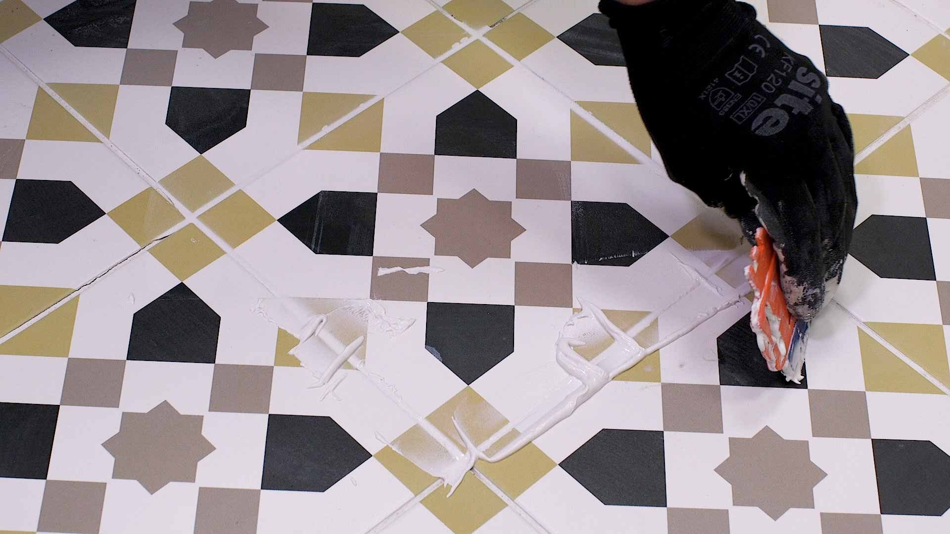 How to replace a damaged tile 12