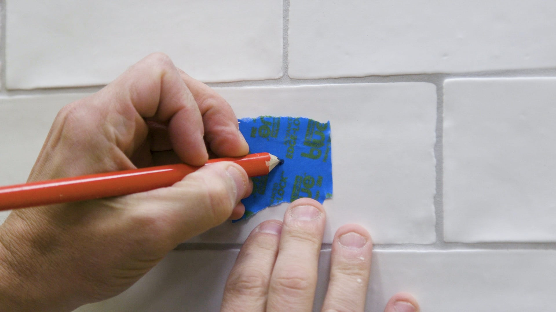 How to drill through tile 4