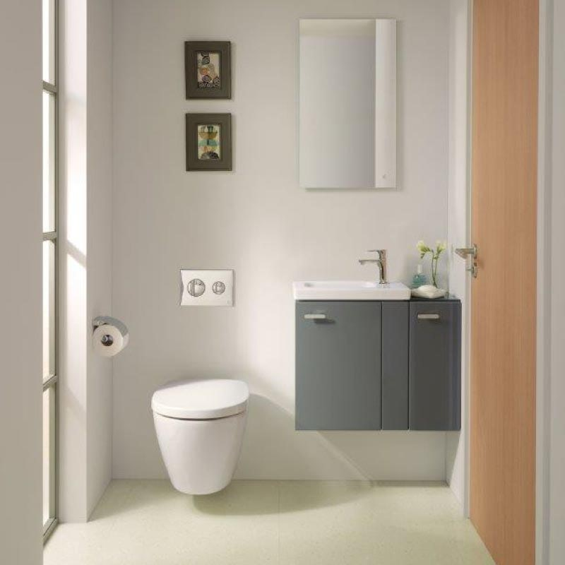 Space-saving bathroom furniture from the Ideal Standard Concept Space range