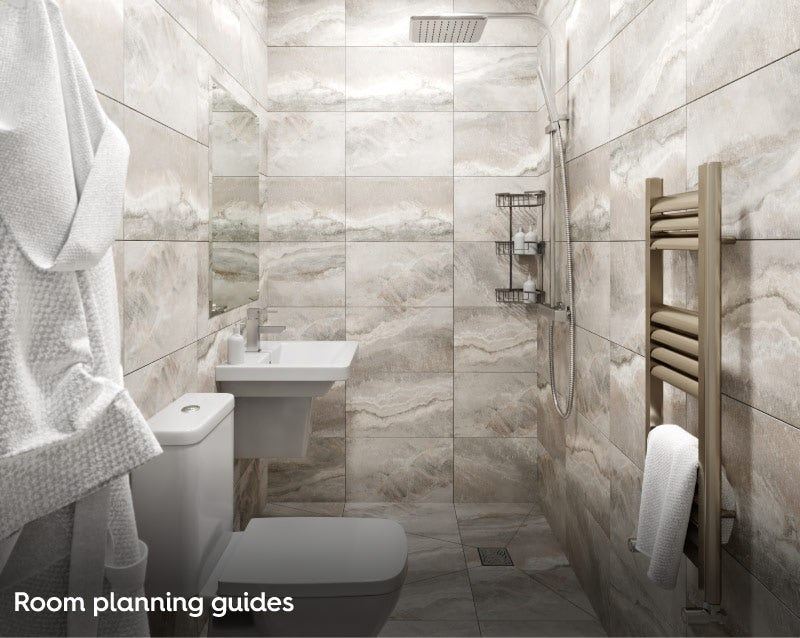 Bathroom room planning guides