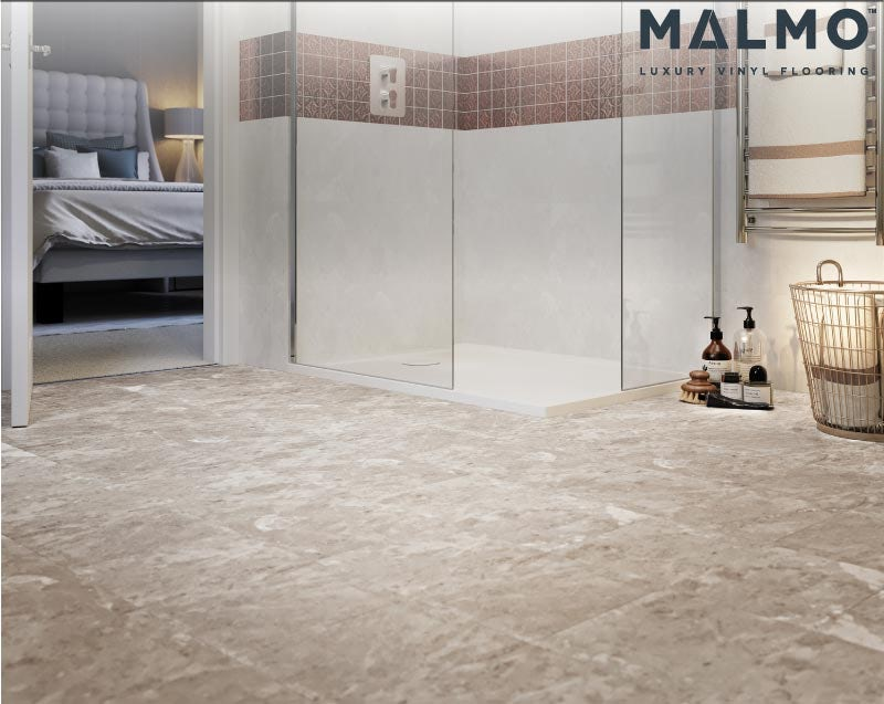 Malmo Rigid click tile embossed & matt 5G Greta flooring 5.5mm