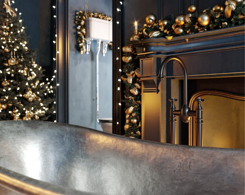 Enchanted Winter bathroom ideas