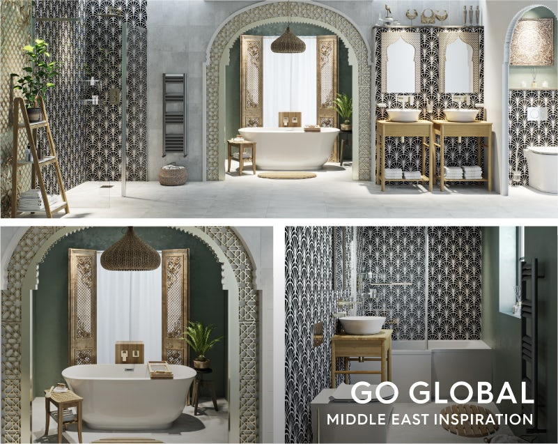 Get the look: Go Global—Middle East bathroom