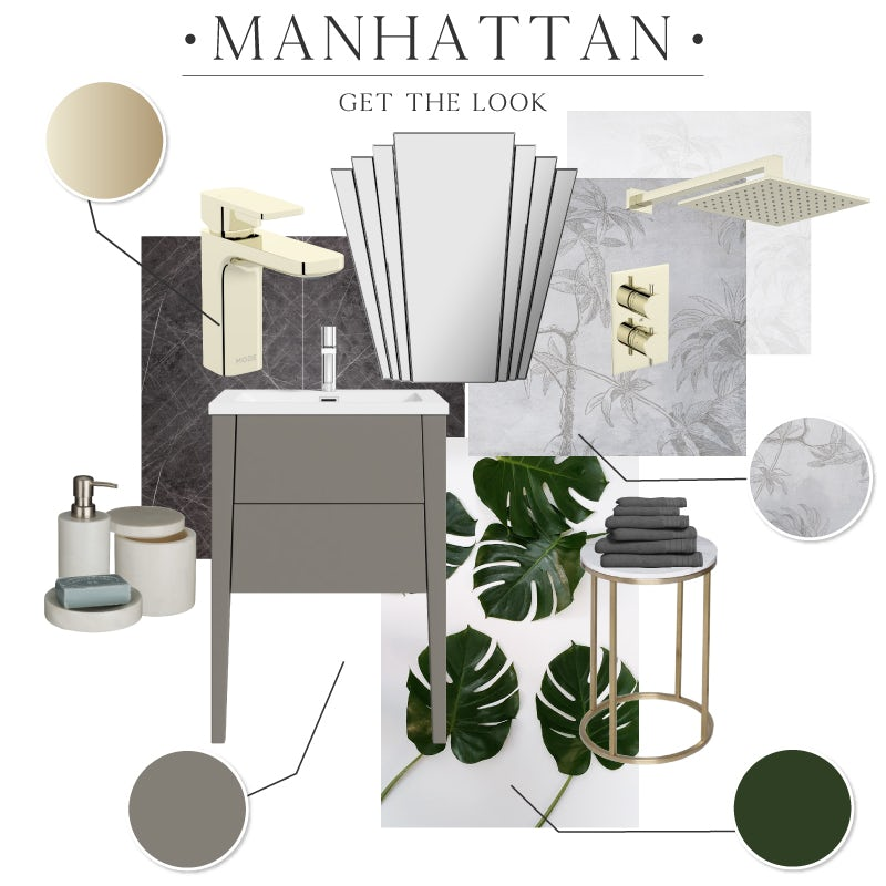 Manhattan bathroom colours