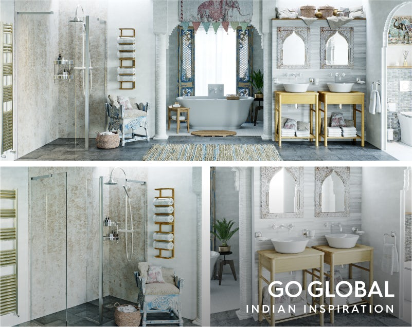Get the look: Go Global—Indian influence bathroom