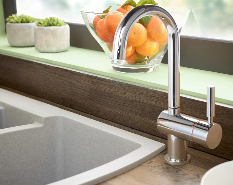 Tuscan Bollente chrome direct boiling hot water tap