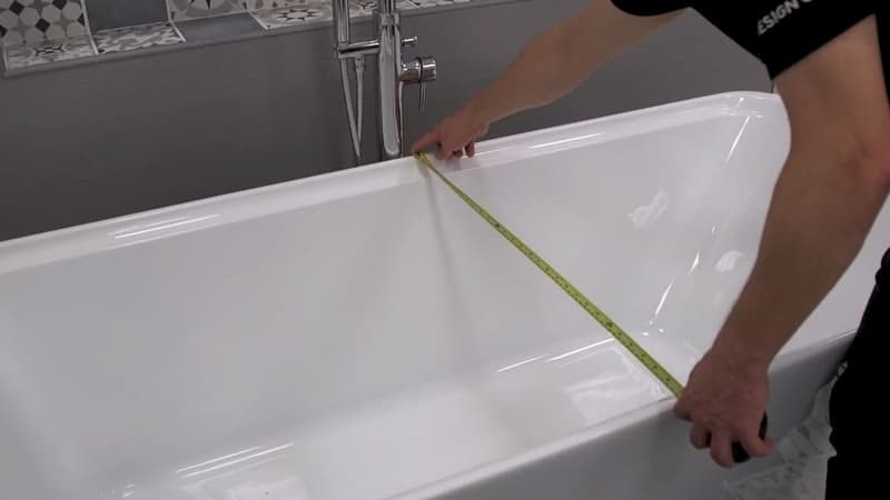 Measuring the bath width
