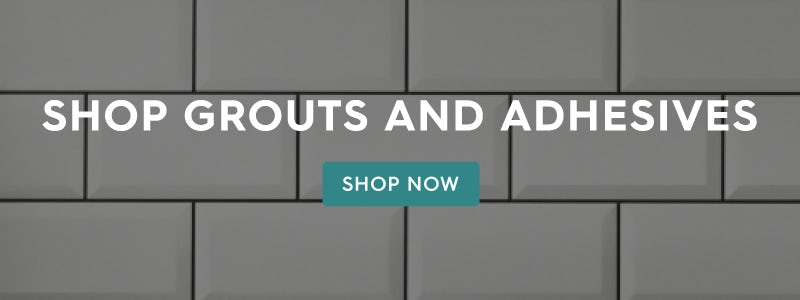 Shop grouts and adhesives