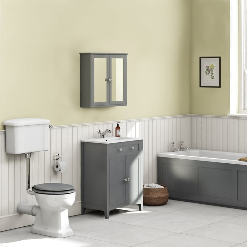Tiles, walls and floors options for period style bathrooms