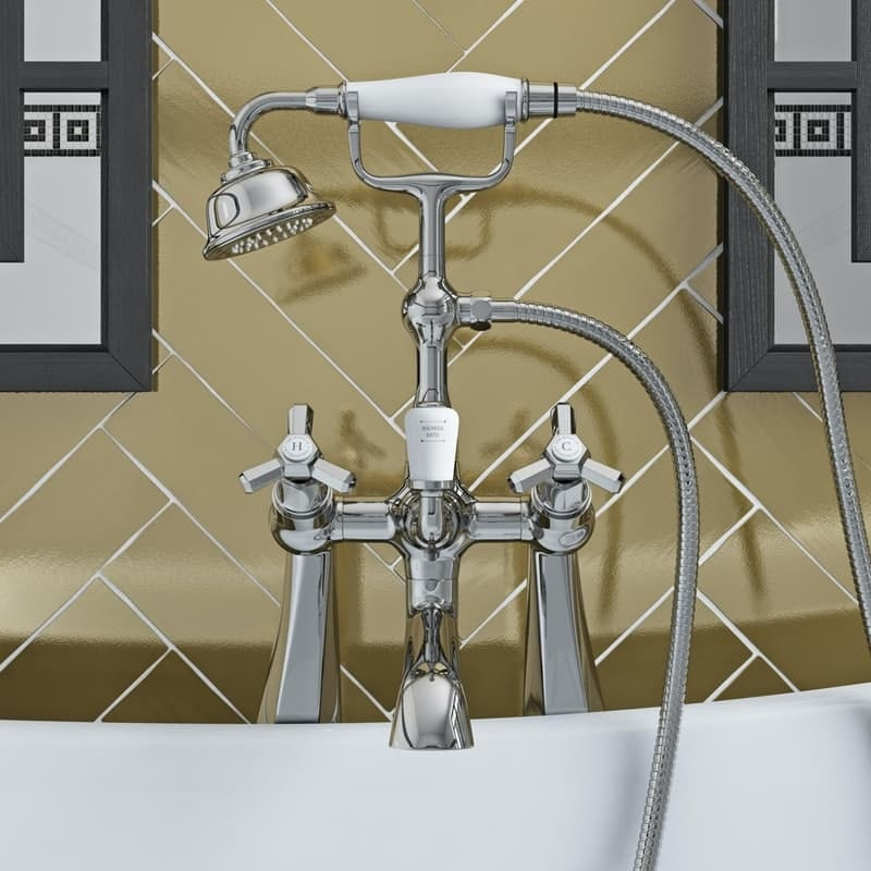 The Bath Co. Beaumont bath shower mixer tap