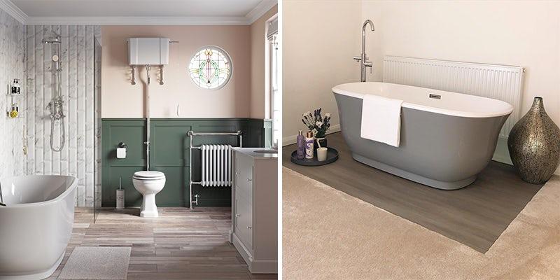 Choose a traditional style bathtub