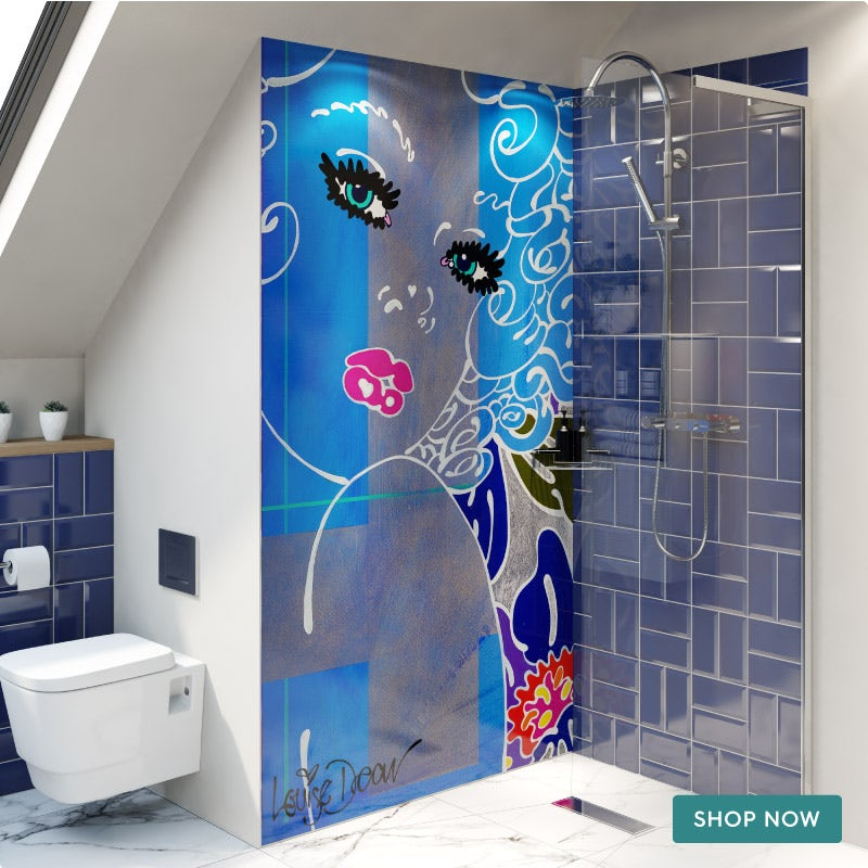 Louise Dear Coo..ee wet room panel pack