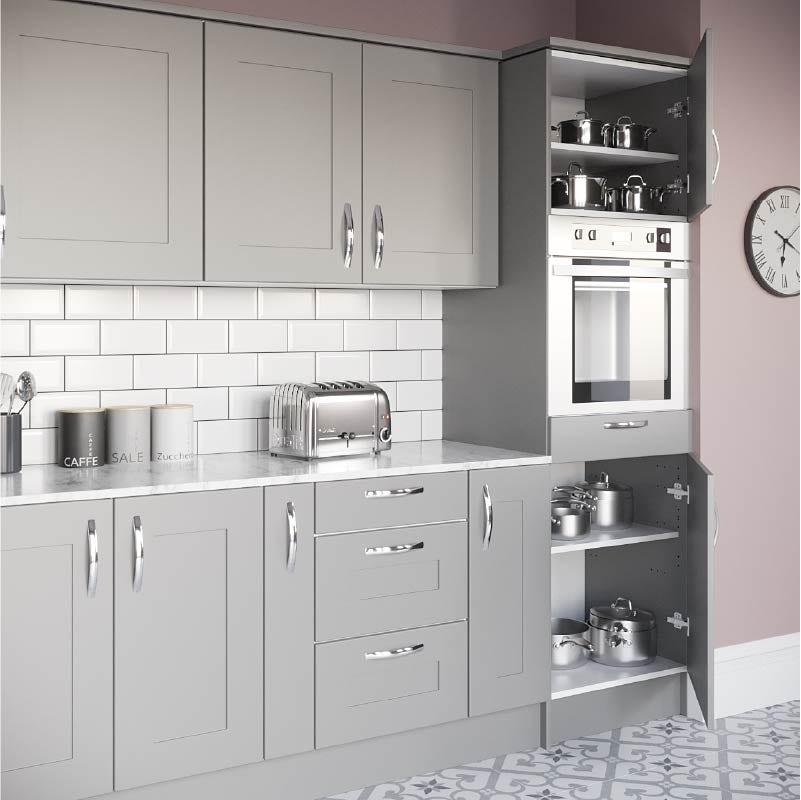 Stylish laminate kitchen worktops from Victoria Plum
