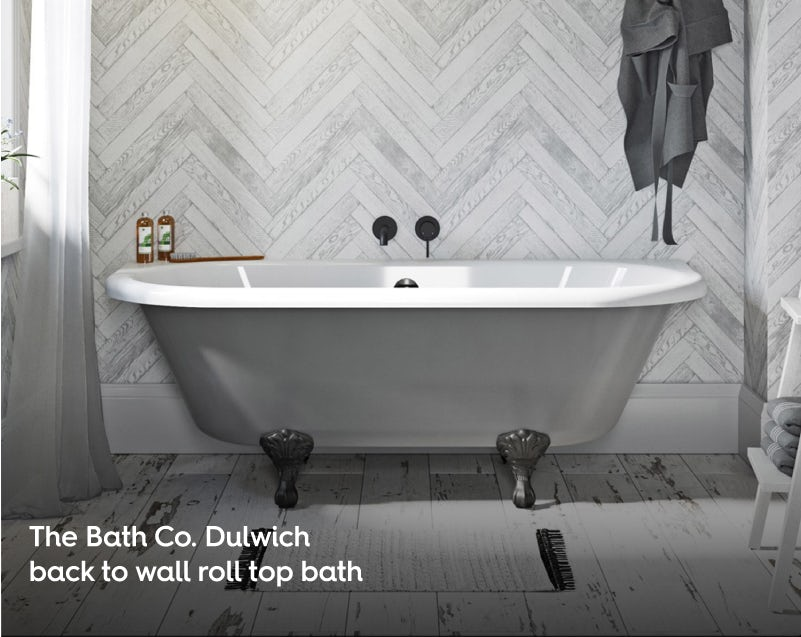 Newbury Traditional Back To Wall Roll Top Bath Suite At: Beautiful Bath Ideas 2019